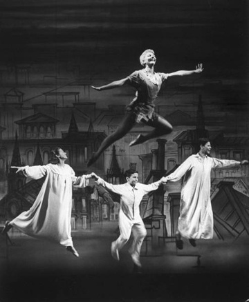 Mary Martin in Peter Pan: Peter O'Toole, Peter Pan With Mary Martin, Peter Pans, Martin Peter, Peterpan, Peter Pan Music, Peter Pan Broadway, Actresses Mary, Stars Mary