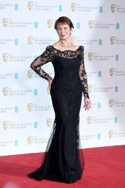 Celia Imrie Photos - Celia Imrie poses in the press room during the EE British Academy Film Awards (BAFTA) held at Royal Albert Hall on February 18, 2018 in London, England. - EE British Academy Film Awards - Press Room