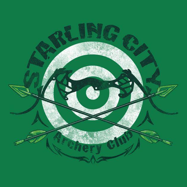 BULLSEYE T-Shirt $10 Green Arrow tee at ShirtPunch today only!