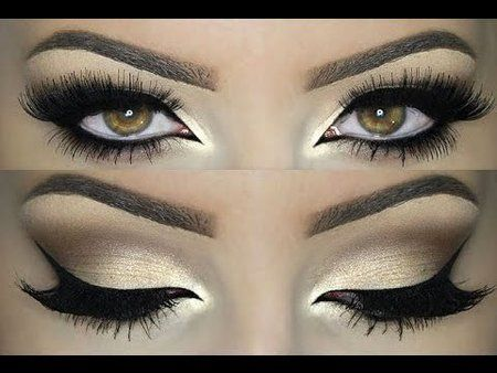 Champaign eye look TUTORIAL #eyemakeup #Howto