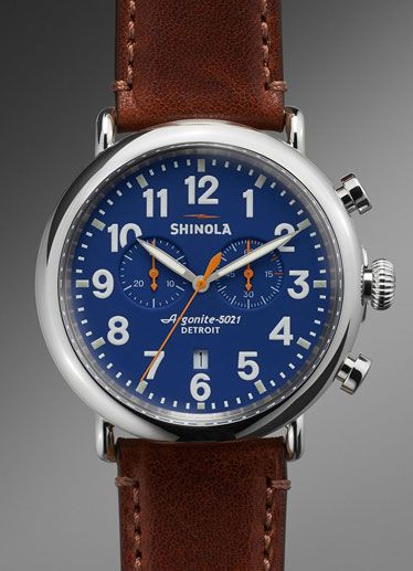 10 Watches To Remind You To Spring Forward on Sunday: Shinola