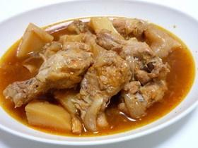 鶏手羽元の旨辛煮
