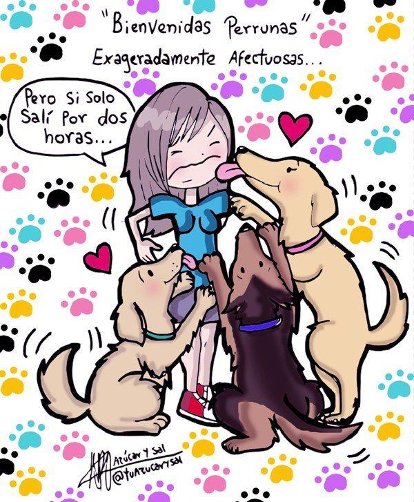 amor de perros...puro e incondicional!!!