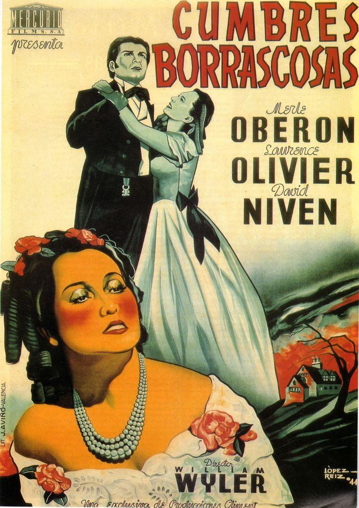 Cumbres borrascosas(1939). Pelicula dirigida per William Wyler