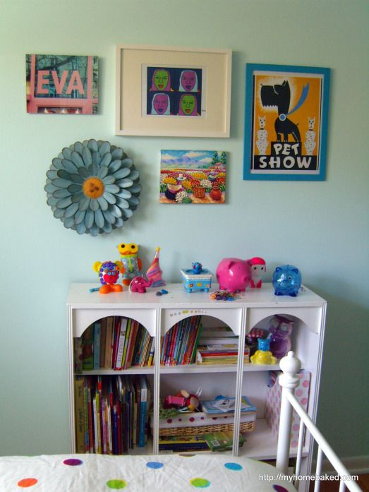 Art collage Kids' rooms progress report | Home Baked
