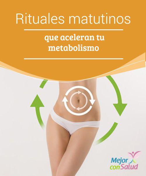 Rituales matutinos que aceleran tu metabolismo  ¿Sientes que comenzar tu día es difícil? Esto es bastante común y una de las causas más normales es un metabolismo lento. Sigue estos rituales matutinos que aceleran tu metabolismo y comienza bien el día.