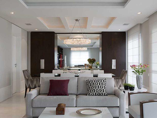 Confira mais de 35 ideias para decorar a sala com requinte for Sala de estar kawaii