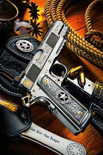 One riot...One Ranger.....Texas Ranger 1911-SR, Beautiful Gun.!!!