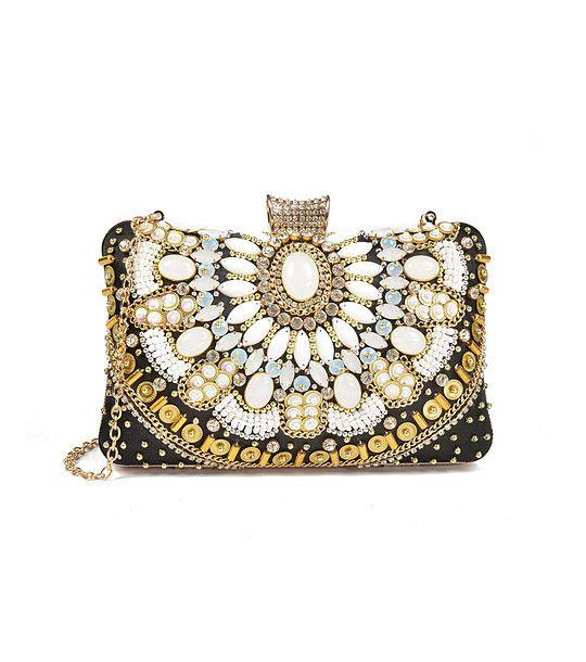 FashionSupreme - Geantă Karmen de culoare neagră - Accesorii - Genţi - Carla Ferreri - noua colecție de primăvară-vară. Haine şi accesorii de marcă. Haine de designer.