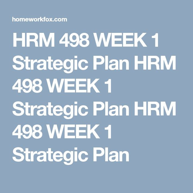 HRM 498 Week 2 Employee Profile Case Study