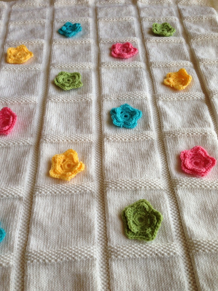 1000 Images About Baby Blanket Knit Patterns On Pinterest