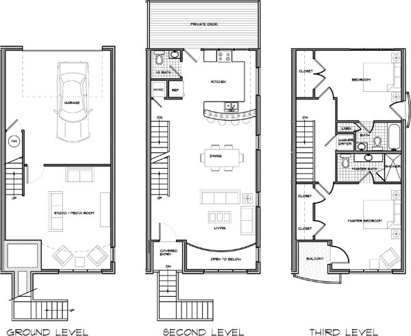 23 best images about small house plans on pinterest for Shotgun home floor plans