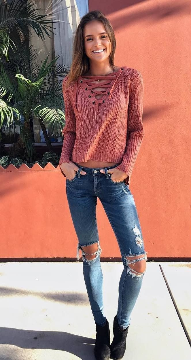foto Fall Fashion: 30 Cool Ways to Wear Baby Blue this Fall