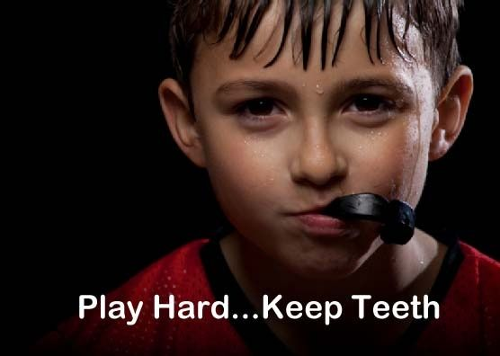 Mouthguards offer significant protection against sports-related injuries to the teeth and soft tissues by providing a resilient and protective surface to distribute and dissipate forces on impact, thereby minimizing the severity of traumatic injury to the hard and soft tissues.