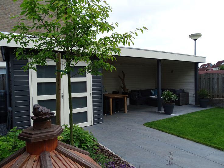 Tuinhuis met veranda van Jan de Boer Tuinhuizen