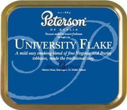 Peterson University  Flake (Ireland) - My favorite pipe tobacco by far.
