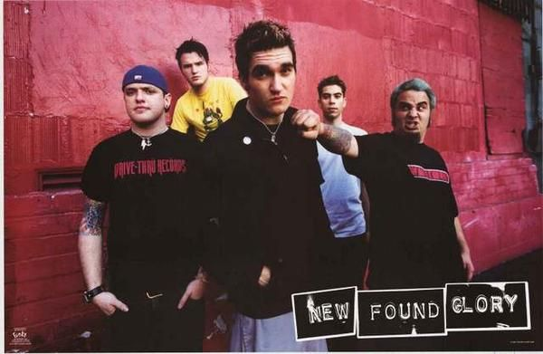 New Found Glory 2002 Band Poster 22x34 – BananaRoad