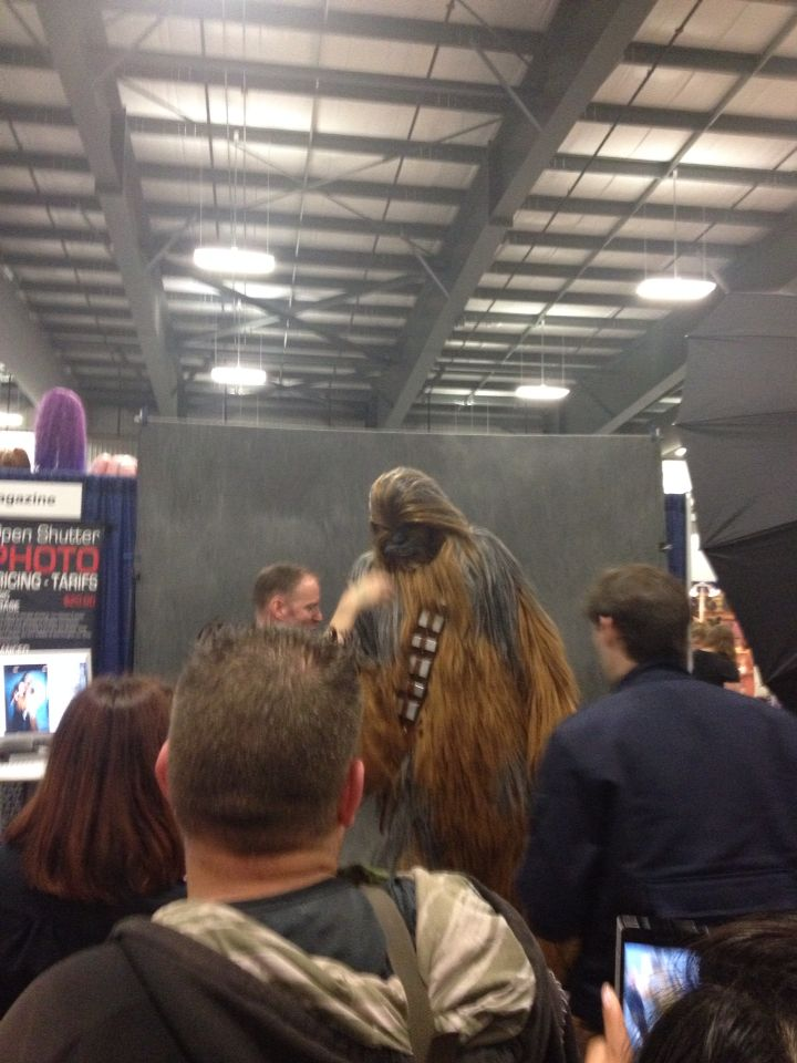 Chubacca is in town