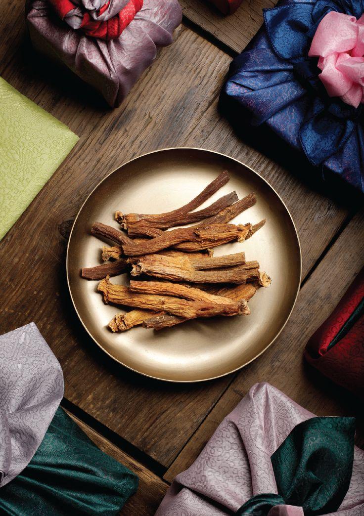 Healthy Food, Korean's JinAb HongSam Photography