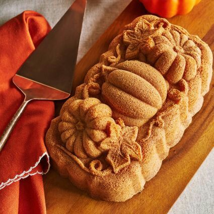 Nordic ware pumpkin loaf