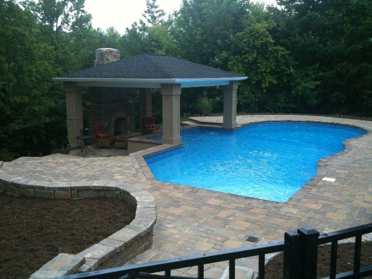 Best 20 vinyl pool ideas on pinterest backyard pools for Pool kings design