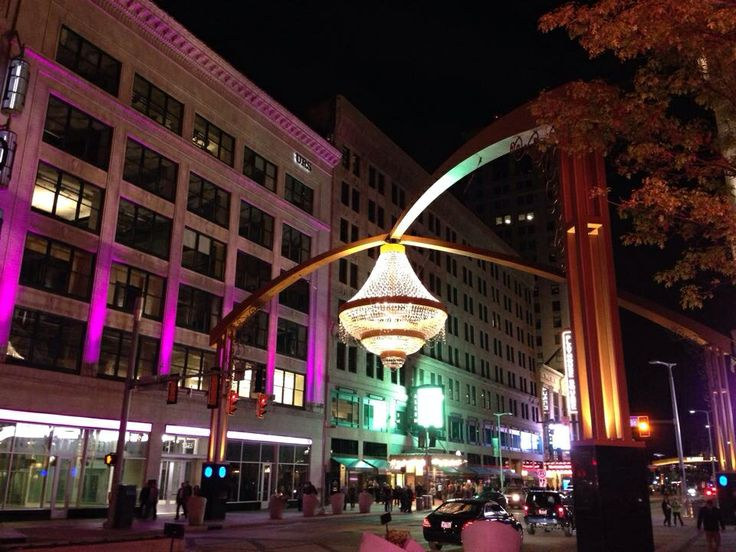 The Chandelier At Playhouse Square