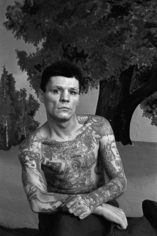 tatouage encyclopedie criminel russe prison 11 Tatouages de prisonniers russes  photo