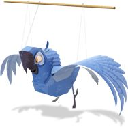 Blu Papercraft | Free Rio 2 Printables, Activities and Game from UHU | SKGaleana