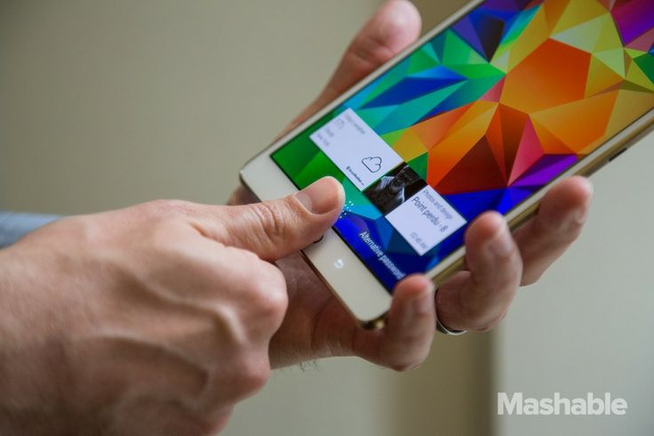 Samsung Galaxy Tab S - 2014 with Finger Print Scanner.