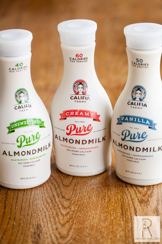 Califia Farms Pure Almondmilk. I've tried many different brands and they all have unique flavors and thicknesses. This brand is, by far, the most delicious! The best almond milk to steam for lattes and cappuccinos! Paleo friendly too :)