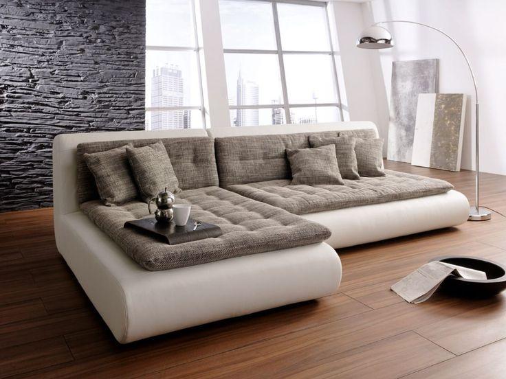 Ecksofa mit schlaffunktion braun  Die besten 25+ Ecksofa schlaffunktion Ideen auf Pinterest | Couch ...