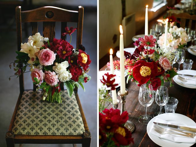 Phenomenal seasonally-inspired florals by McKenzie Powell, a Seattle-based designer. Erin from Floret and McKenzie discuss wedding trends and cutting gardens in an exclusive interview--click through to read the entire conversation.