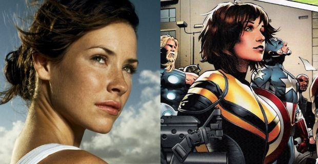 WASP : ARTICLE. HERE. > http://screenrant.com/ant-man-corey-stoll-evangeline-lilly/. Evangeline Lily is going to be Wasp! Woop!