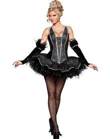 Seductive Swan Adult Women's Costume