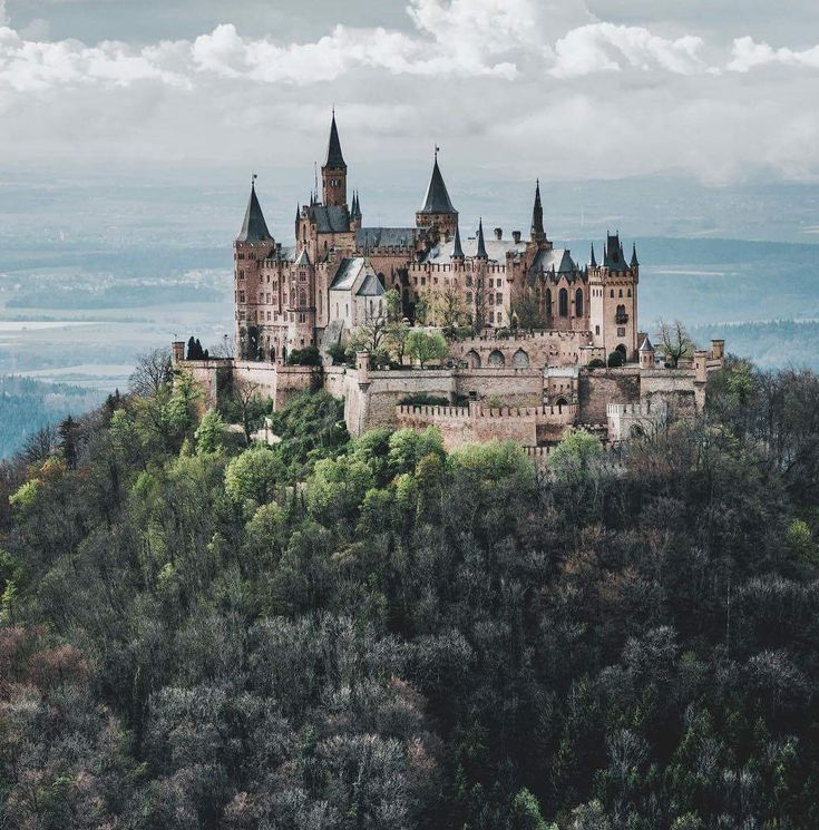 Whitefireprincess Hohenzollern Castle 🏰 Baden