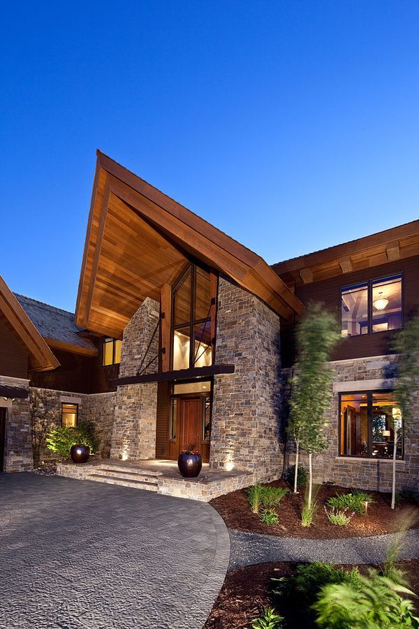 105 best houses places lake minnetonka images on for Rustic contemporary home plans