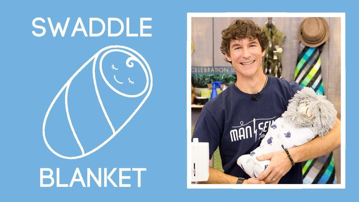 Easiest Swaddle Blanket Free Sewing Tutorial Man