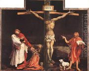 The Crucifixion c. 1515  by Matthias Grunewald (Mathis Gothardt)
