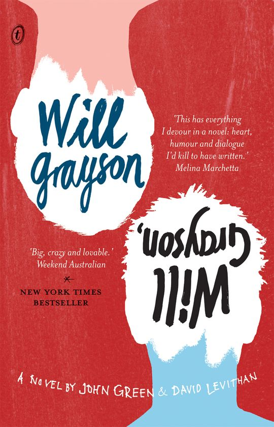 Will Grayson:  What if your oldest, wildest, only best friend started writing a musical about your life…and it made you look like a joke? What if the girl you didn't think you were interested in started being interested in you? And who is this other guy called Will Grayson?  The other Will Grayson:  What if you are technically depressed? What if you're in love with someone you've never met? And what's the story with the guy walking around with your name?