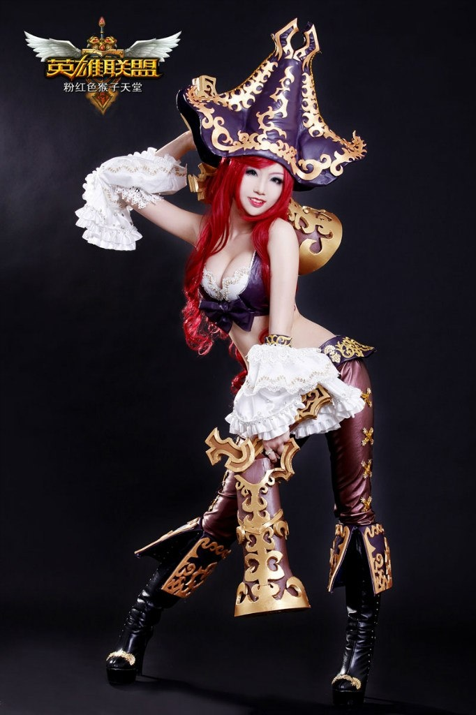 Miss fortune league of legends costume