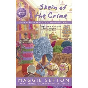 Skein of the Crime (A Knitting Mystery) (Hardcover)