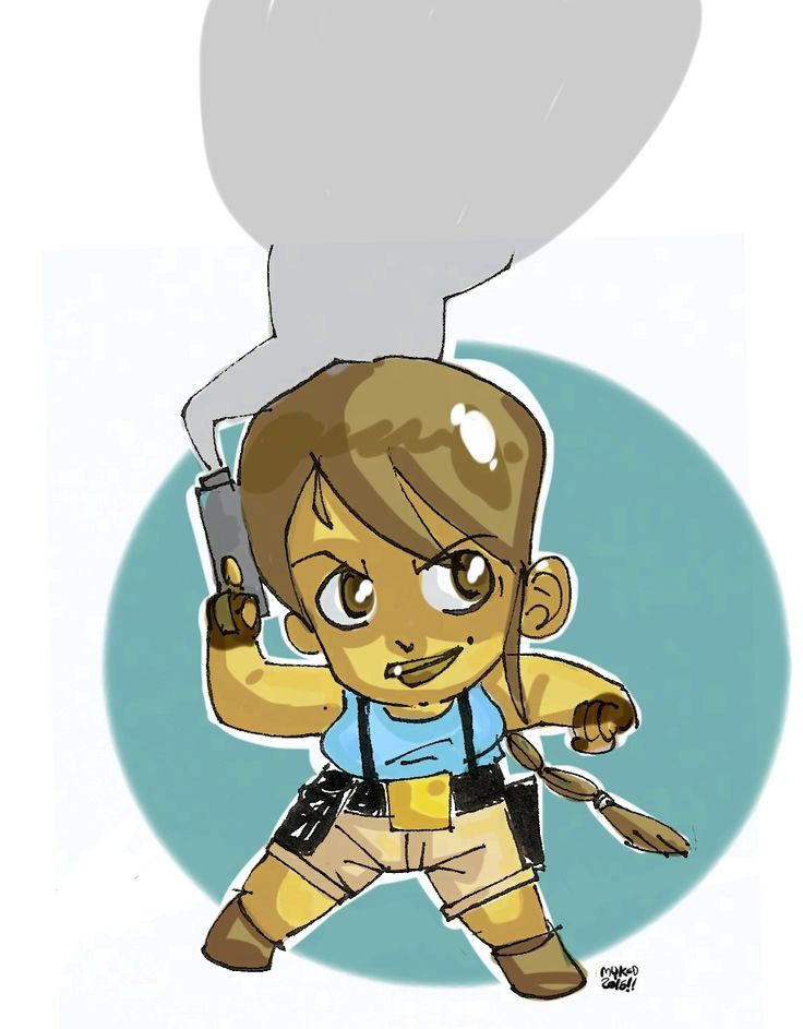 Lara Croft (Tom Rider)