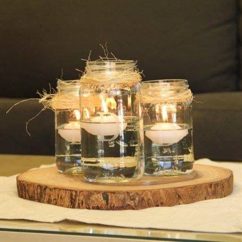 Mason Jar Centerpieces!