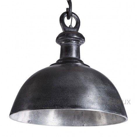PTMD black industrial lamp bowl s (648117) - PTMD - Stoer & Industrieel