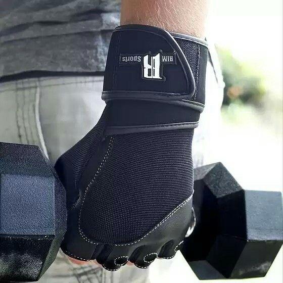 RIMSports Men/Women Weight Lifting Gloves