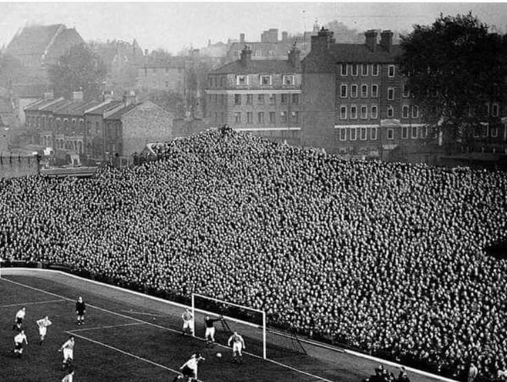 Highbury, Arsenal in the 1950s.