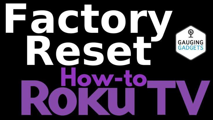 How to factory reset a tcl roku tv tcl roku tutorial