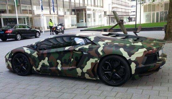 Sulley Muntari's Lamborghini Aventador. #soccer #football #cars
