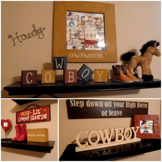 Where Have You Been: Vintage cowboy nursery