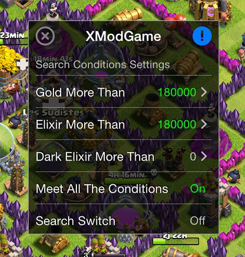 XModGames clash of clans hack ios - 6